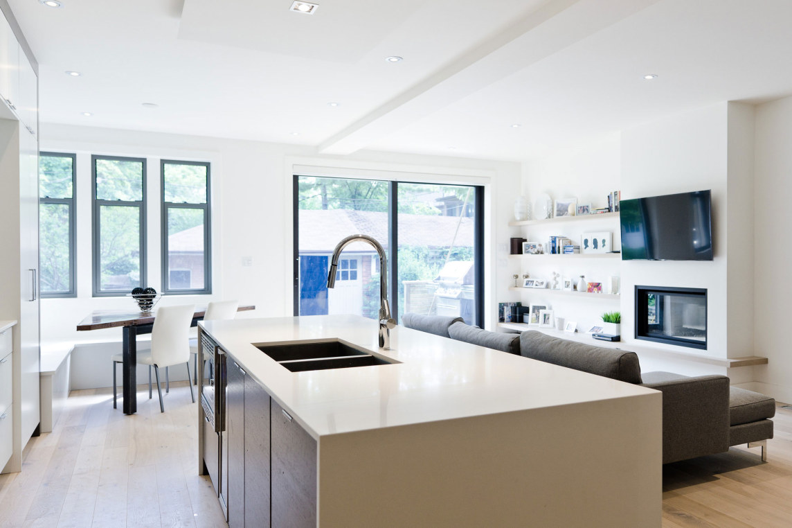 Blacklab architects inc toronto modern architecture high park - High Park Renovation