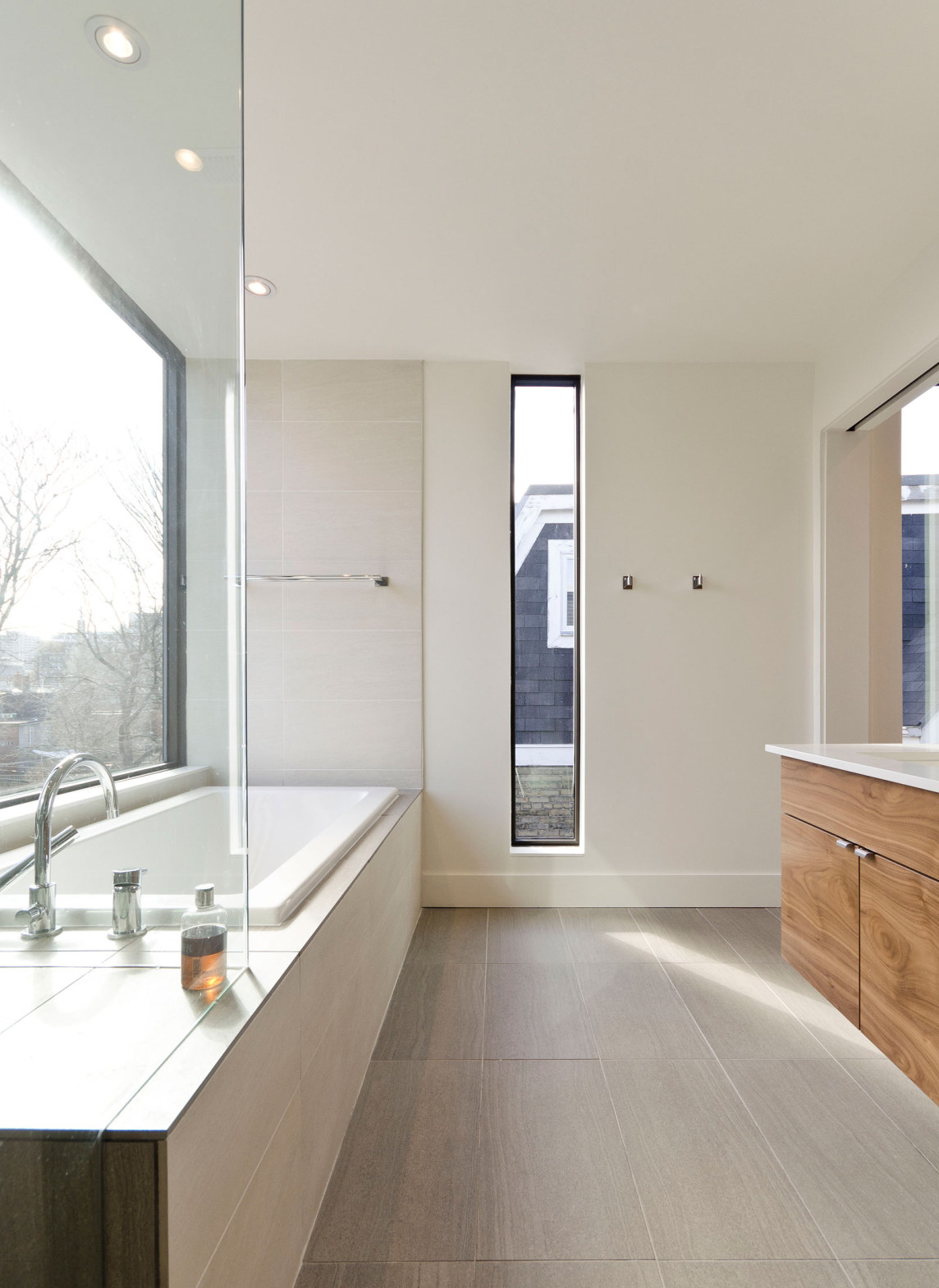 Blacklab architects inc toronto modern architecture high park - Riverdale Renovation