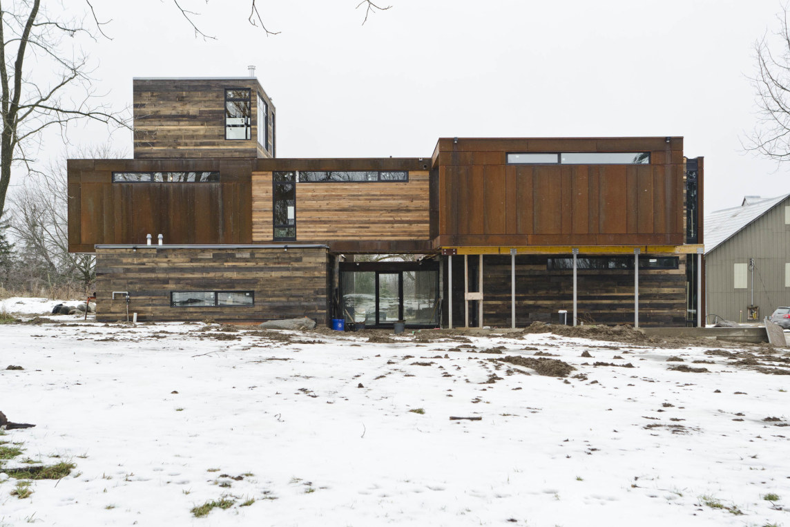Blacklab architects inc toronto modern architecture for Building a house in ontario