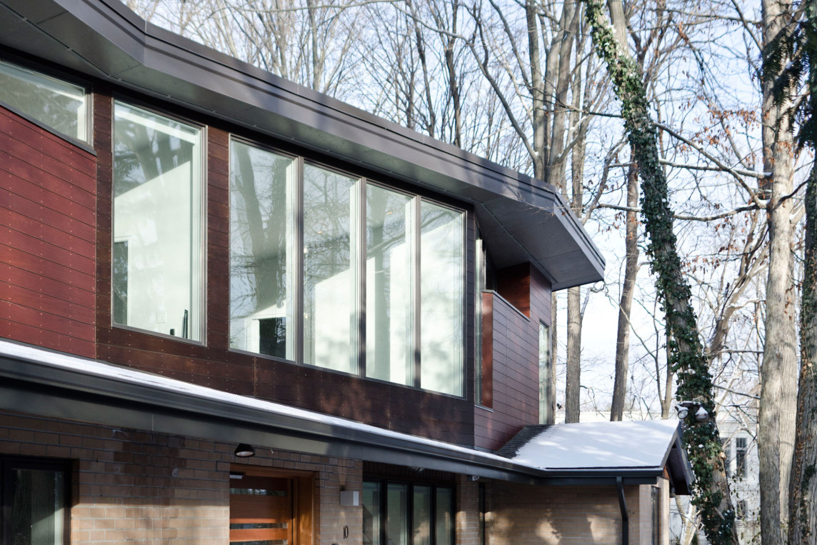 Blacklab architects inc toronto modern architecture high park - Ravine Residence