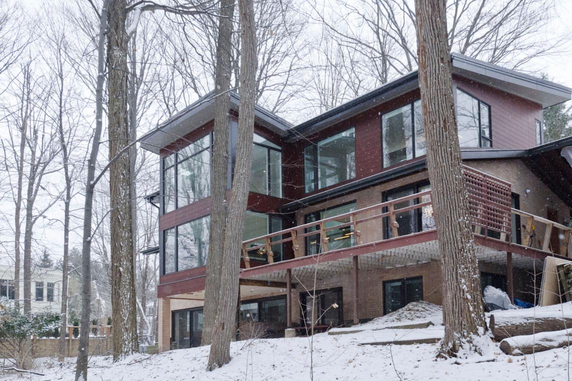 Blacklab Architects Inc Toronto Modern Architecture - Blacklab architects inc toronto modern architecture ravine